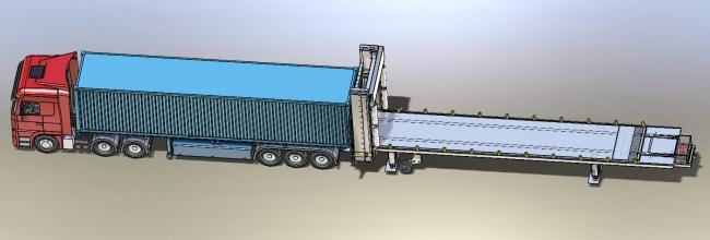 Zagruzchik konteinerov i avto (zagruzochnui stol)