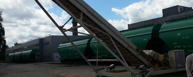 razgryzka hopperov - 1 transporter